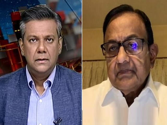 Video : P Chidambaram On Massive Rise In Wholesale Inflation