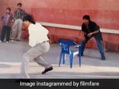 Shah Rukh Khan और Akshay Kumar साथ क्रिकेट खेलते दिखे, 'दिल तो पागल है' सेट की Photo वायरल