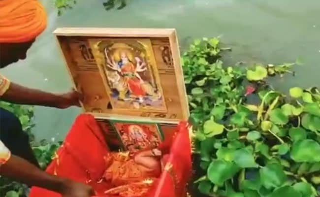 Newborn Girl In Wooden Box Found Floating In Ganga, Rescued By Boatman