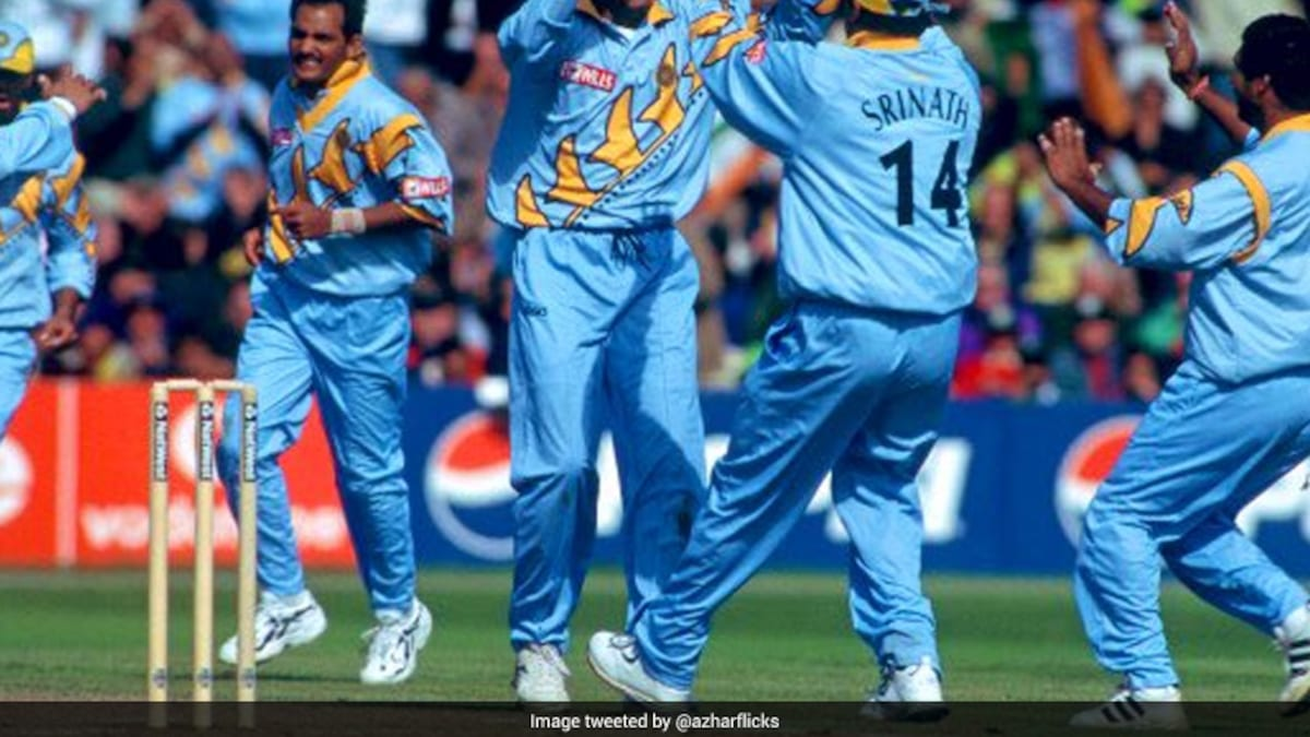 """""""Do You Remember The Man Of The Match?"""": Mohammed Azharuddin Asks Fans As He Recalls India-England World Cup Clash thumbnail"""