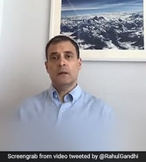 This Photograph In The Background Of Rahul Gandhi's Video Was Taken By...