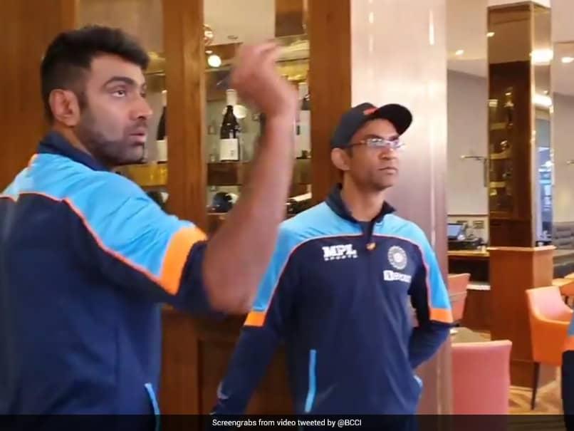 Watch: Ravichandran Ashwin Plays Darts With Coaching Staff In WTC Final