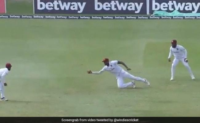 Watch Jason Holder Take A Blinder To Dismiss Keshav Mahara in 2nd Test  match WI vs SA