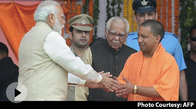 Video   Yogi Adityanath To Meet PM In Delhi Amid Reports Of Dissent In UP