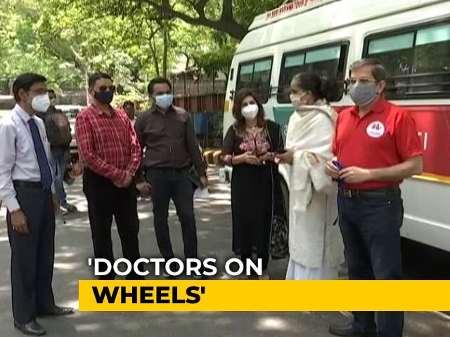 Video : 'Doctors on Wheels' Make Covid Healthcare Accessible For Rural India