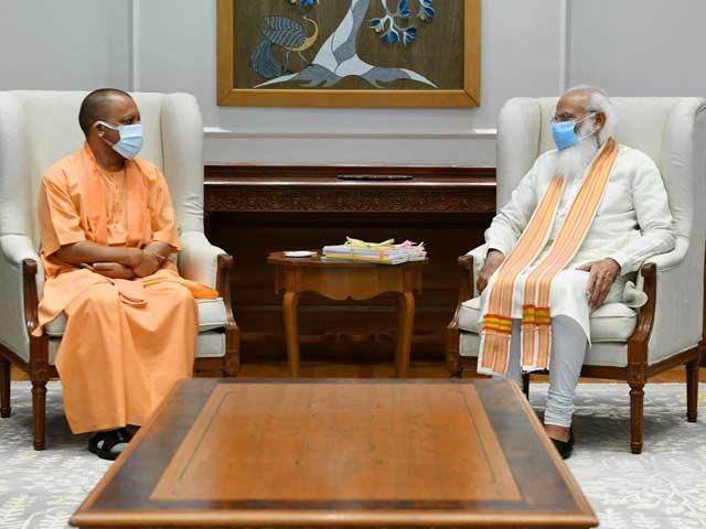 Video : Yogi Adityanath Meets PM Modi In Delhi Amid UP Tumult