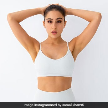 Sara Ali Khan Keeps It Wonderfully Chic In White To Sweat It Out In Style