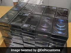 Customs Seizes Iphones, Laptops Worth Rs 2.50 Crore At Delhi Airport