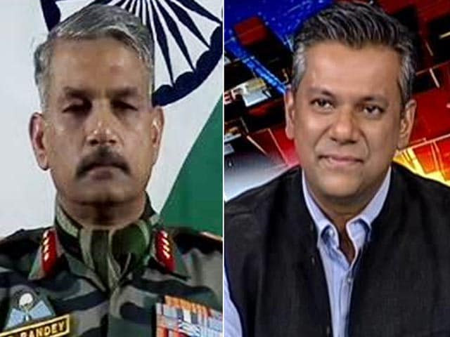 Video : Guidance From State Actors: Top Army Officer On Drone Attack