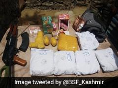 Infiltration Bid Foiled In Kashmir's Kupwara; Huge Cache Of Arms, Drugs Seized