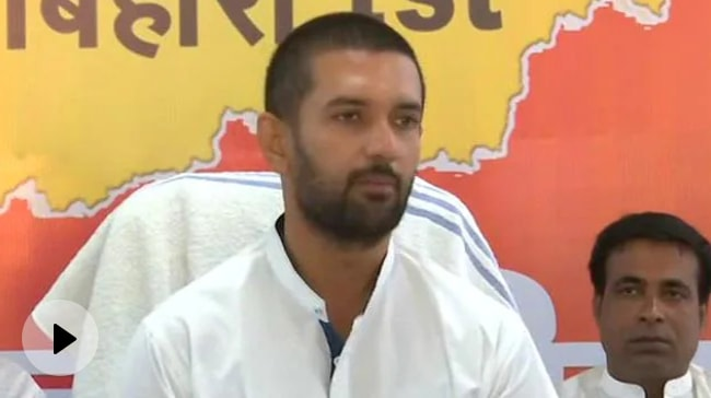 Video | After Coup, Chirag Paswan At Uncle's Doorstep, Returns After Long Wait