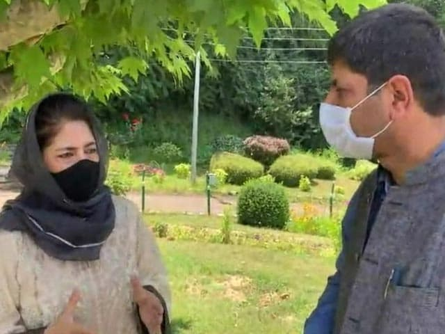 """Video : """"Don't Want To Miss Chance For Dialogue"""": Mehbooba Mufti On PM's Meet"""