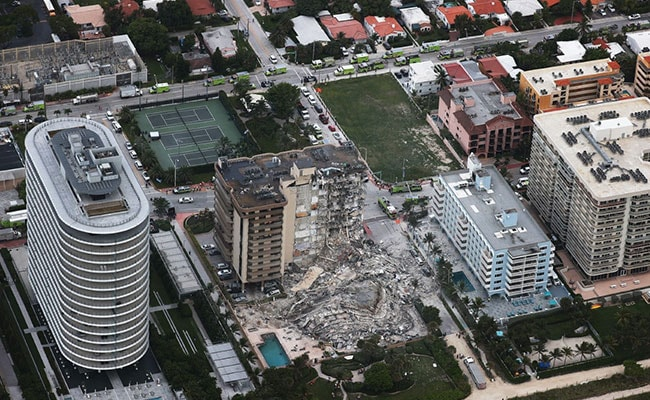 'Like A Bomb Went Off': 1 Dead, 99 Unaccounted For In Florida Building Collapse