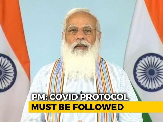 Video : Virus Still Among Us, Can Mutate, Warns PM Modi