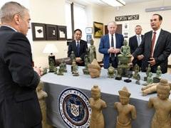 US Returns 27 Stolen Antiquities, Valued At $3.8 Million, To Cambodia