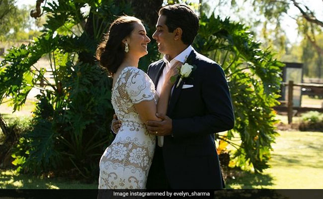 Dreamy Pics From Evelyn Sharma And Tushaan Bhindi's Countryside Wedding In Australia