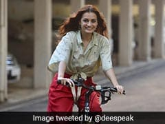 """World Bicycle Day 2021: """"More Cycling Tracks Please"""", Tweets Dia Mirza"""