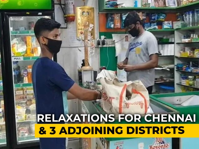 Video : Chennai, 3 Adjoining Districts Unlock, Malls, Textile Shops Permitted