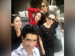 Manish Malhotra's Lunch Party With Karisma, Malaika Was All About Desserts (See Pics)