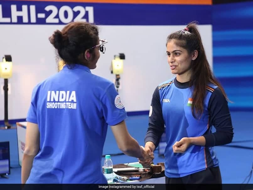 Shooting World Cup: India Womens Team Win Bronze In 10m Air Pistol Event