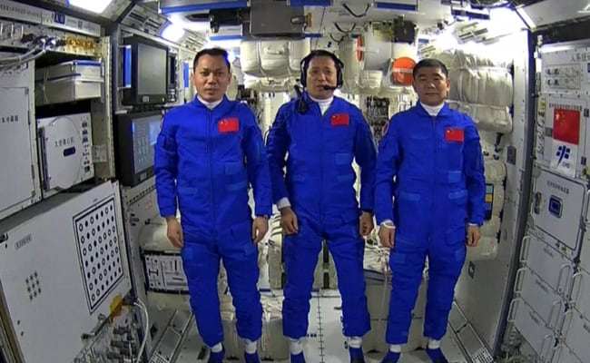 Xi Jinping Lauds 'New Horizon' For Humanity In Space Chat With Astronauts