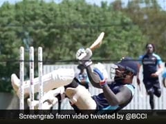 Watch: Virat Kohli Takes Evasive Action Against Short Ball During Net Session Ahead Of WTC Final