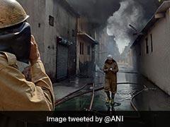 4 Missing, 39 Fire Trucks Called In After West Delhi Blaze