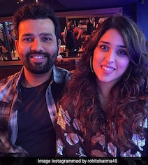 'Trying To Watch The Game Or...': Ritika Sajdeh Pokes Fun At Rohit Sharma