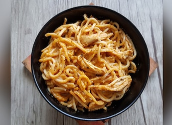 Watch: This Butter Chicken Noodles Recipe Gives Your Regular Noodles A Creamy, Desi Makeover