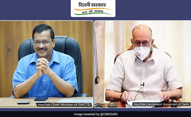 Delhi Chief Minister, Lt Governor Meet Over Possible 3rd COVID-19 Wave