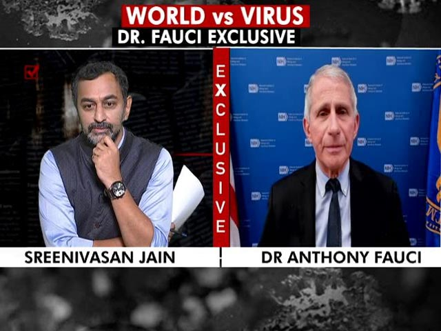 Video : If You Extend Intervals, You May Become Vulnerable To Variants: Dr Fauci
