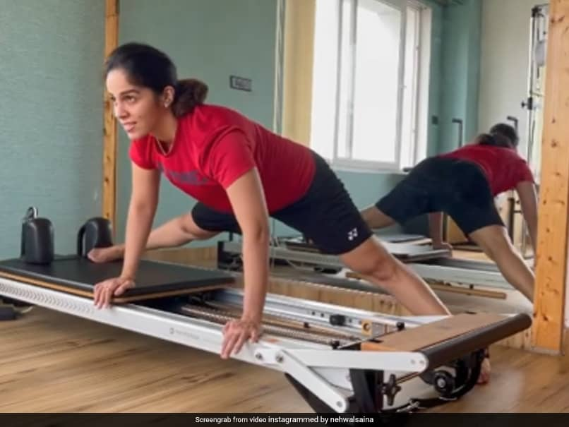 """""""Body Is Not Stiff"""": Saina Nehwal Aces Pilates, Inspires Her Fans On Insta"""