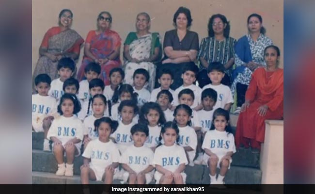 Sara Ali Khan, In A Throwback Mood, Shares A Class Photograph. Can You Spot Her?