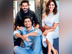Vicky Kaushal Sends Wedding Wishes To <I>Uri</i> Co-Star Yami Gautam And Director Aditya Dhar