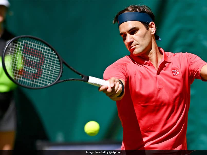 Roger Federer Suffers Shock Second-Round Defeat In Halle Ahead of Wimbledon