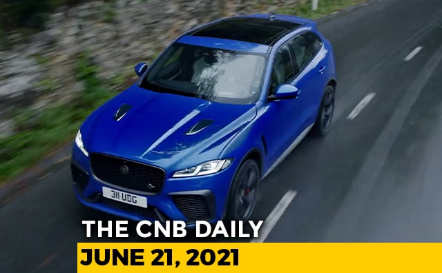 Video : Jaguar F-Pace SVR Bookings   Mahindra Offers   Yamaha Electric Two-Wheeler