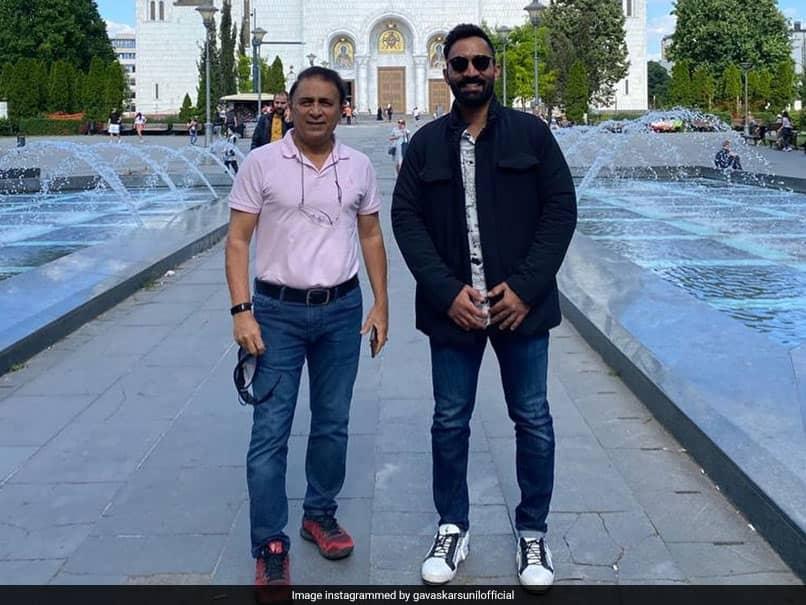 """World Test Championship Final: Sunil Gavaskar Wishes Dinesh Karthik Luck For His """"Commentary Debut"""""""