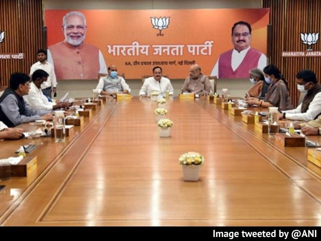 Video : Top BJP Leaders Discuss Preparations For Assembly Elections In 5 States In 2022