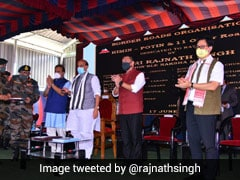 India Priest Of Peace But Knows How To Give Fitting Reply To Aggression: Rajnath Singh