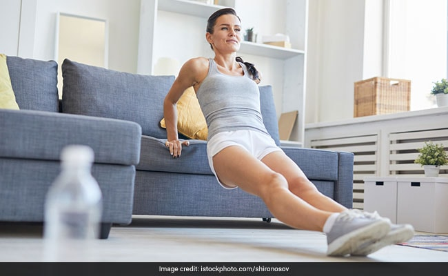 #MondayMotivation: This Easy Sofa Workout Can Help You Stay In Shape When At Home