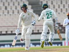 West Indies vs South Africa 2nd Test: Rassie van der Dussen, Kagiso Rabada Put Visitors In Command