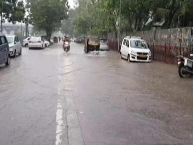 Video : Heavy Rain, Waterlogging In Mumbai As Monsoon Advances In Maharashtra