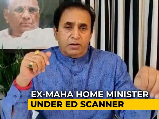 Video : Ex-Maharashtra Home Minister Skips Probe Agency Summons For Second Time
