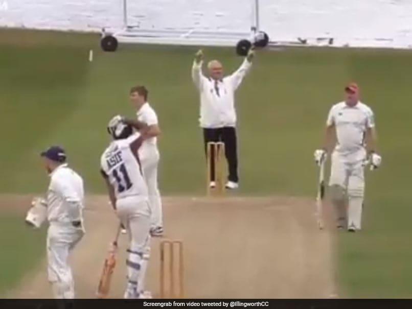 Watch: Cricketers Six Ends In Disaster. He Breaks Own Car Windscreen