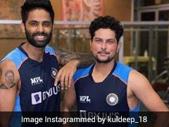 "KKR's Kuldeep Yadav, Suryakumar Yadav ""Reunited"" At Team India's Bio-Bubble"