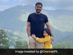With Ziva Dhoni By His Side, MS Dhoni Sets Style Goals With His Dashing New Handlebar Moustache