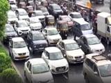 Video : Traffic Jams, Waterlogging In Mumbai After Heavy Rain