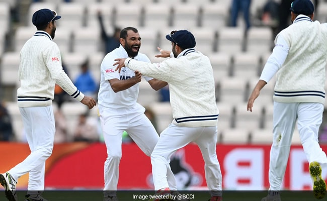 WTC Final Mohammad Shami is the first Indian to take a 4-wkt haul in ICC finals