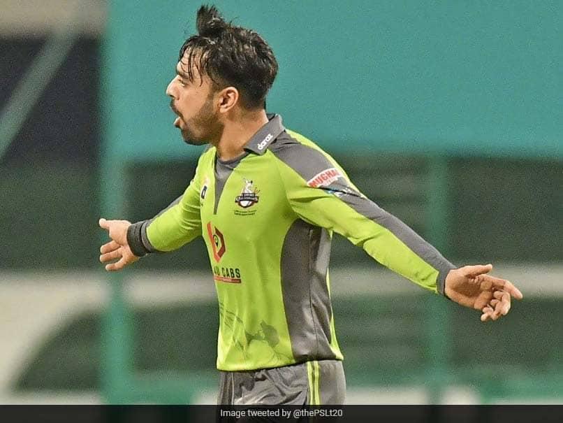 "Watch: Rashid Khan Produces ""Magical Spell"" To Blow Away Peshawar Zalmi In PSL 2021"