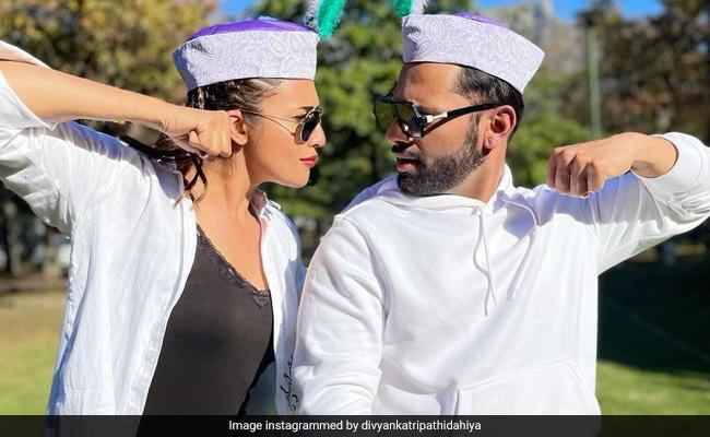 Khatron Ke Khiladi: Divyanka Tripathi Poses With Rahul Vaidya In Latest Pics From Cape Town. See Her ROFL Caption